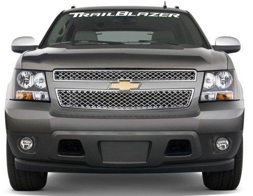 Chevrolet Trailblazer Windshield Banner Decal Sticker Chevrolet