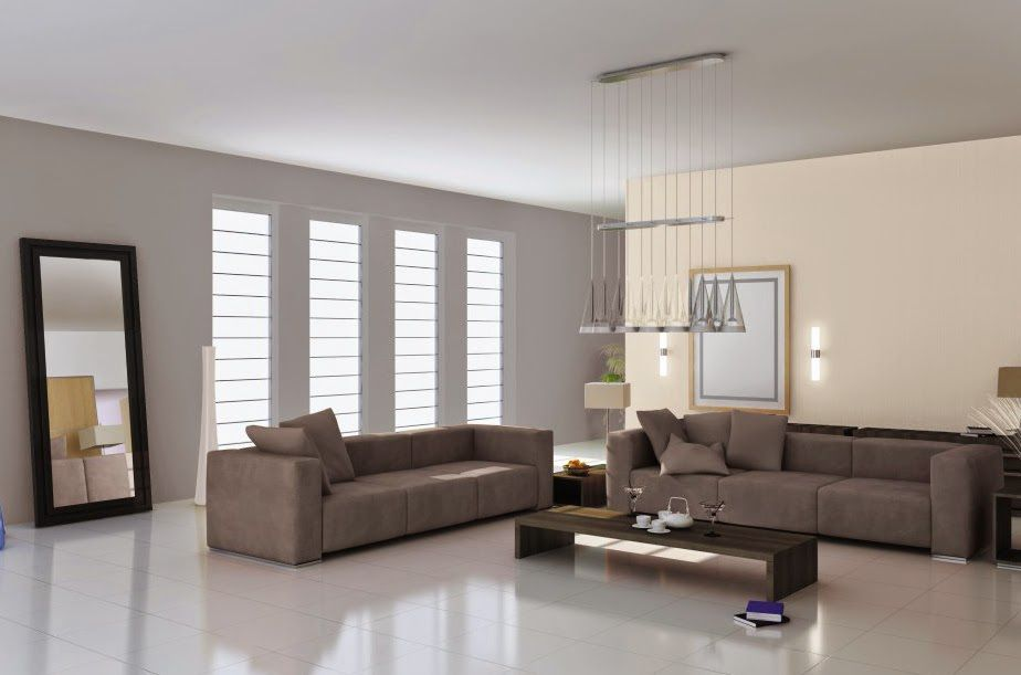 10 ideas de decoraci n para salas en gris chocolate for Decoracion de salas