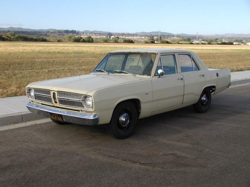 1967 Plymouth Valiant - my first car