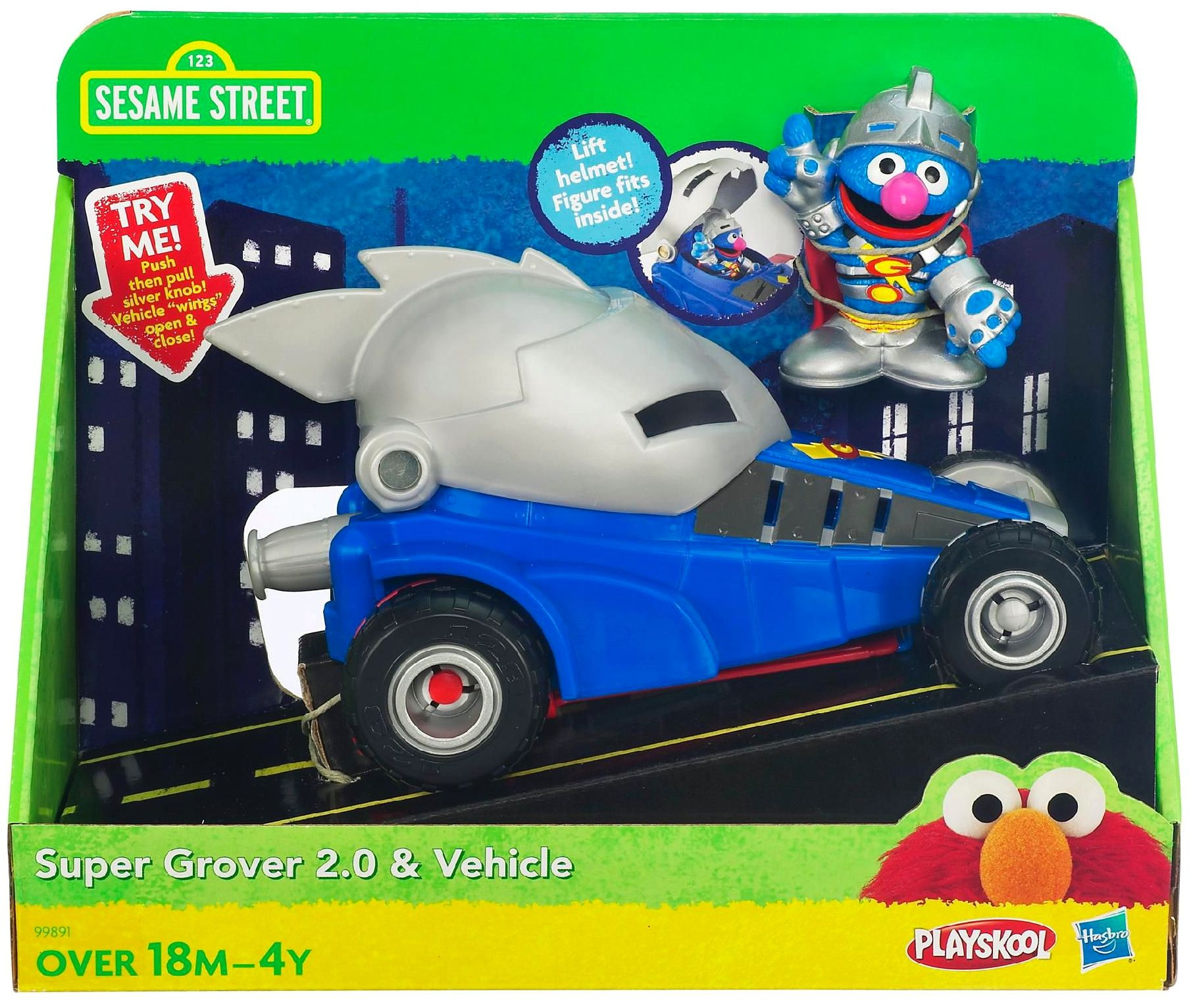 Super Grover 2 0 Vehicle Sesame Street Toys Super Cars Toy Car