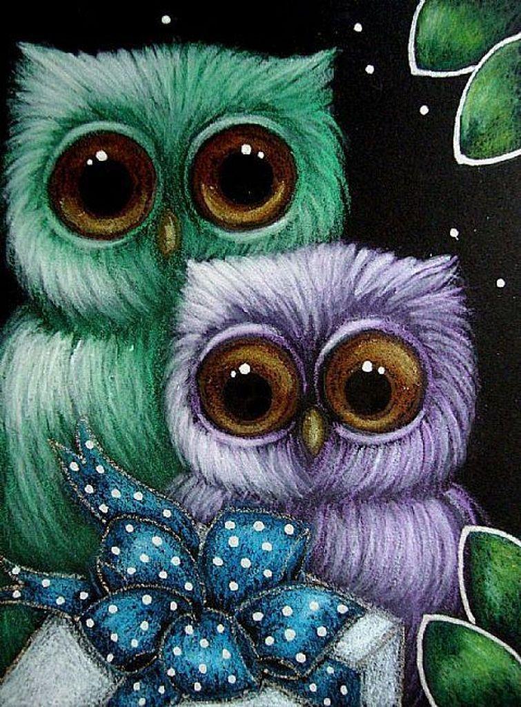 Картинки совы спокойной ночи