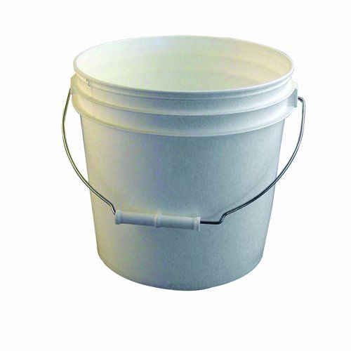 Bon 84715 2gallon Reinforced White Plastic Bucket You Can Find Out More Details At The Link Of The Image Plastic Buckets Cleaning Vinyl Siding Water Bucket