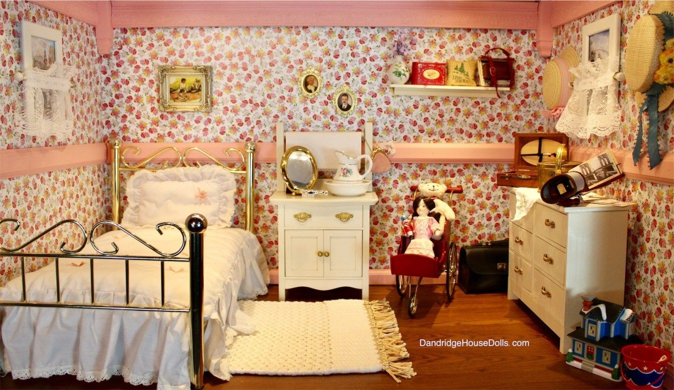 american girl doll samantha victorian room furniture