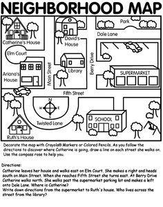 Pinterest Me Grade Lifeskills Google Search Grade - Map reading for children