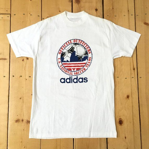 Vintage 90s Adidas US National Soccer Team Outfitters Big