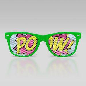 Pow Wayfarer, $12.99, now featured on Fab.
