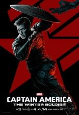 """Six New Captain America 2 """"Red' Posters - Cosmic Book News"""