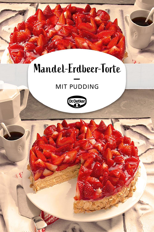 Mandel-Erdbeer-Torte #recipeforpiecrust