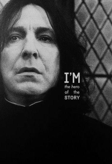 Alan Rickman/Severus Snape and fanfiction art.