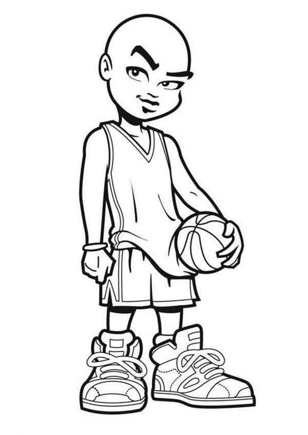 Nba Cartoon Of Michael Jordan Coloring Page Color Luna En 2020 Coloriage Dessin Sport Coloriage Gratuit