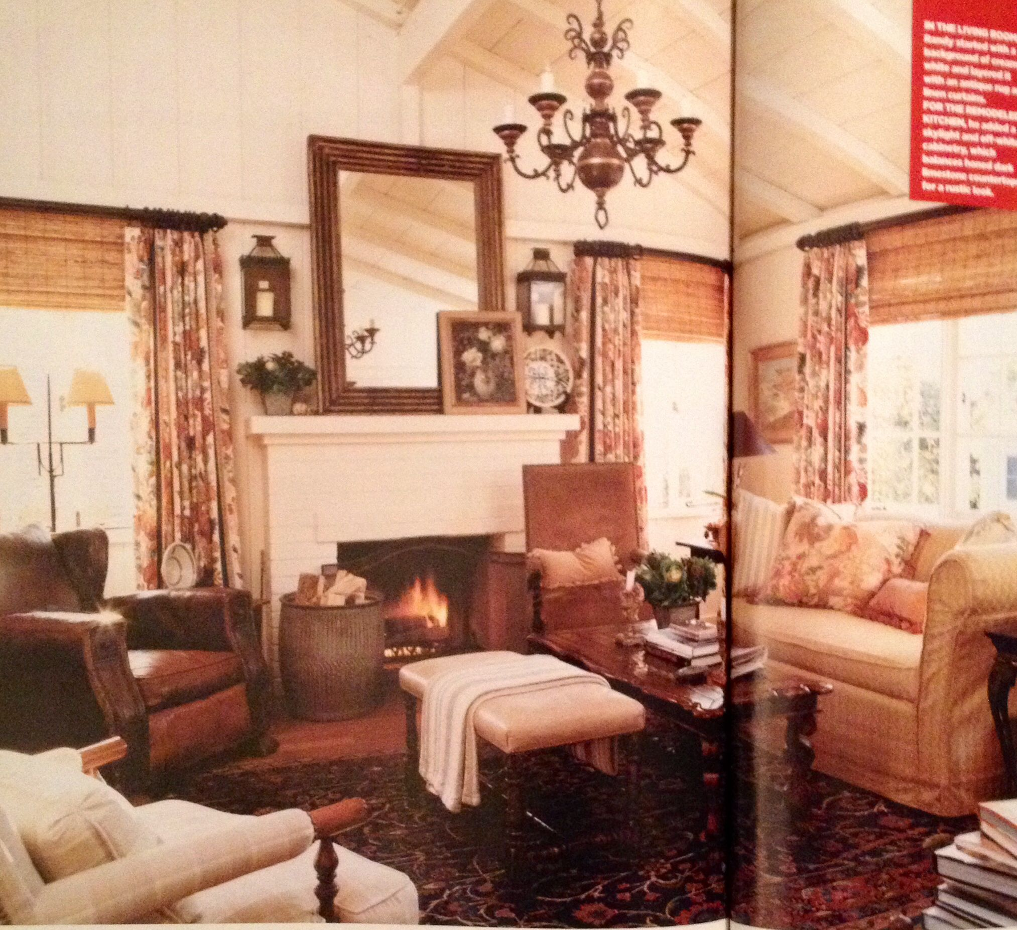 Merveilleux All Time Favorite Cottage Living Magazine Living Room. Laguna Beach. Issue  #19