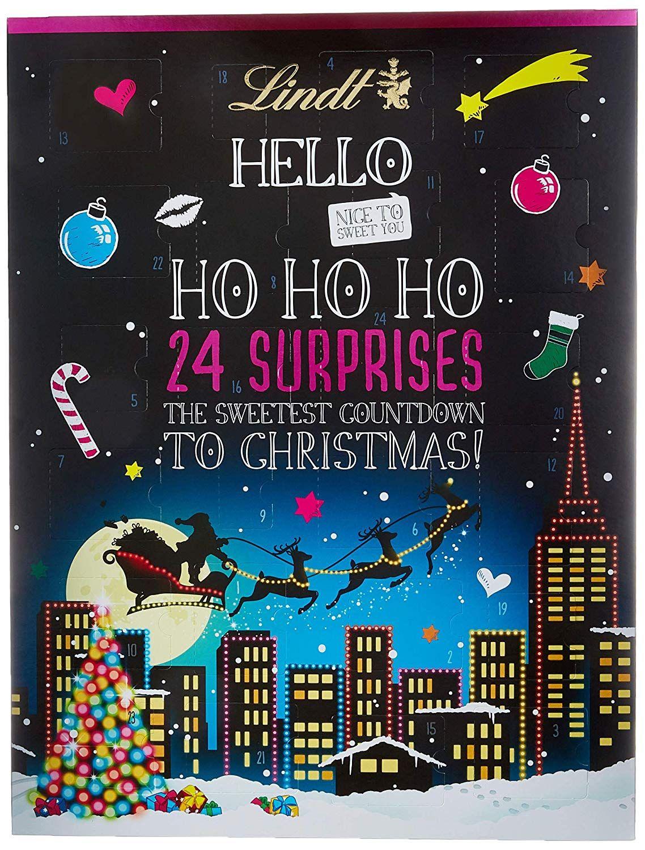 Weihnachtsgeschenke Lebensmittel.Lindt Sprüngli Hello Adventskalender 1er Pack 1 X 230 G