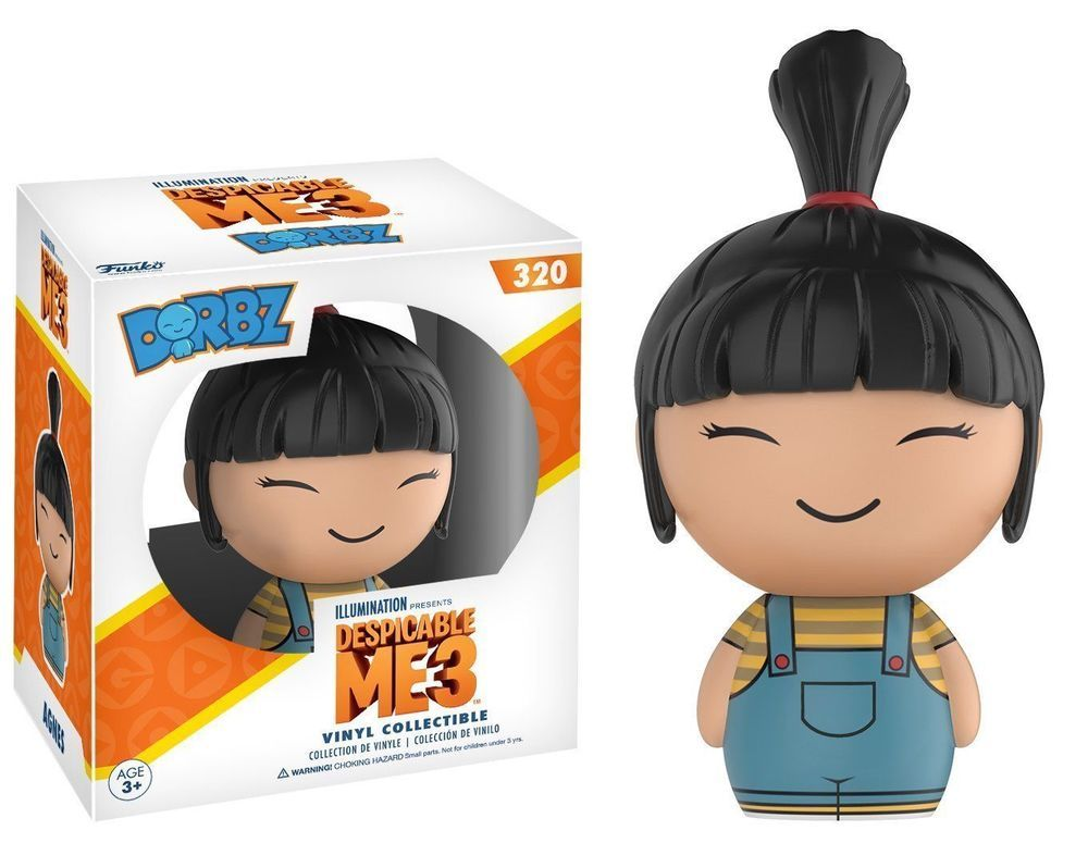 Pop Keychain Despicable Me 3 Funko Agnes Vinyl Action Figure New In Box