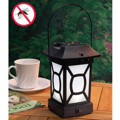 Mosquito Repellent Patio Lantern  $29.95  Repels Mosquitoes, Provides  Bright Light Insect Deterrence Is