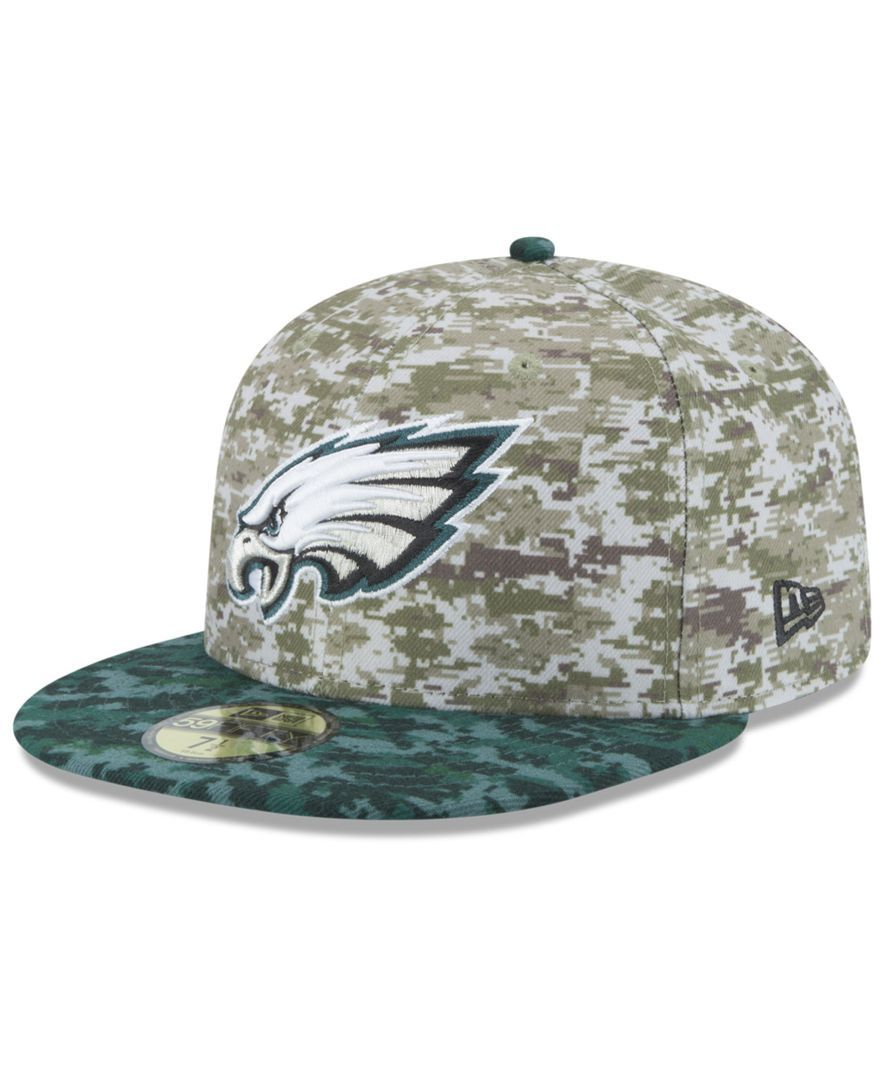 hot sale online ef75e 022ac New Era Philadelphia Eagles Salute to Service 59FIFTY Cap ...