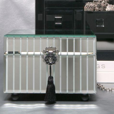 Mirrored Jewelry Box From Z Gallerie Jewelry Box Mirror Mirror