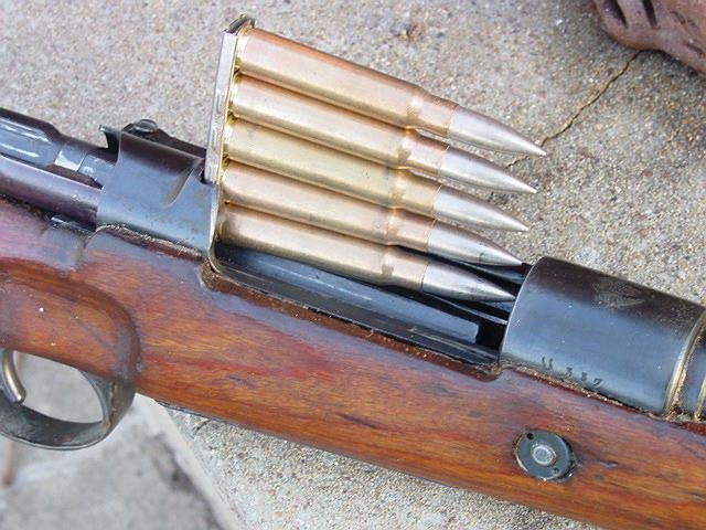Mauser 98k stripper clips