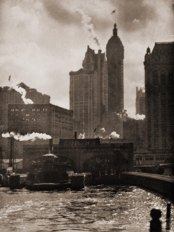 Alfred Stieglitz: The City Of Ambition, 1910.