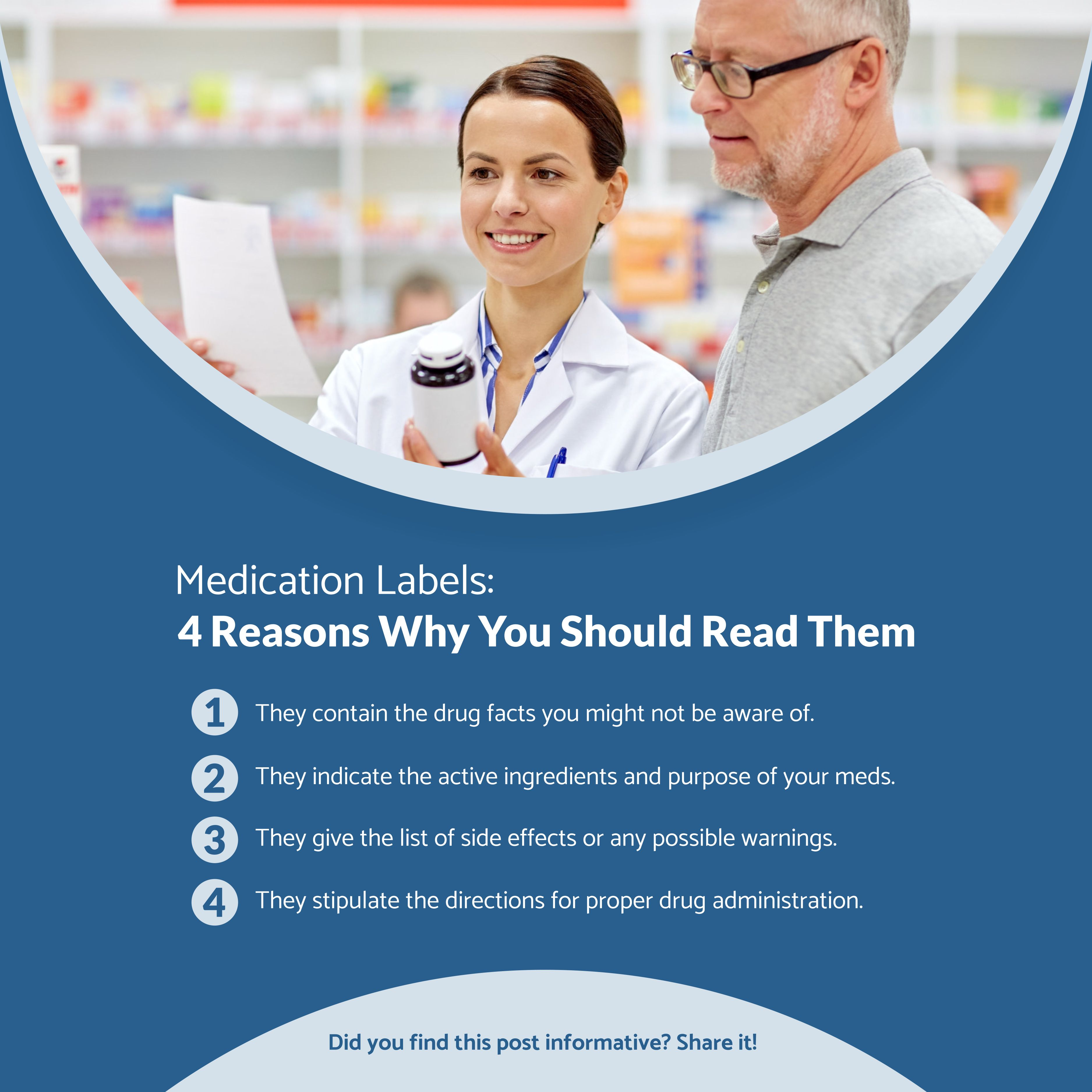 Medication Labels 4 Reasons Why You Should Read Them