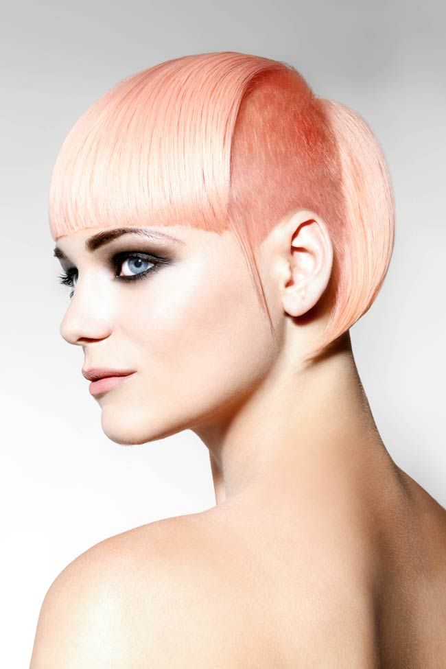 A New Trend In Hair Color Is Blush Pink Hair Leah Lee