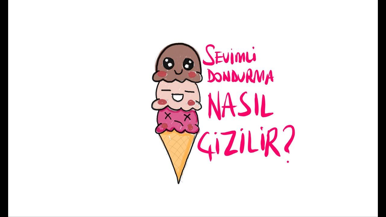 Sevimli Dondurma Nasil Cizilir Cocuklar Icin Kolay Dondurma Cizimi Kak Risovat Milye Morozhenoe Youtube Enamel Pins Youtube