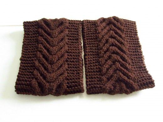 Knitted Earwarmer Or Headband Pattern Knitting Patterns Headband
