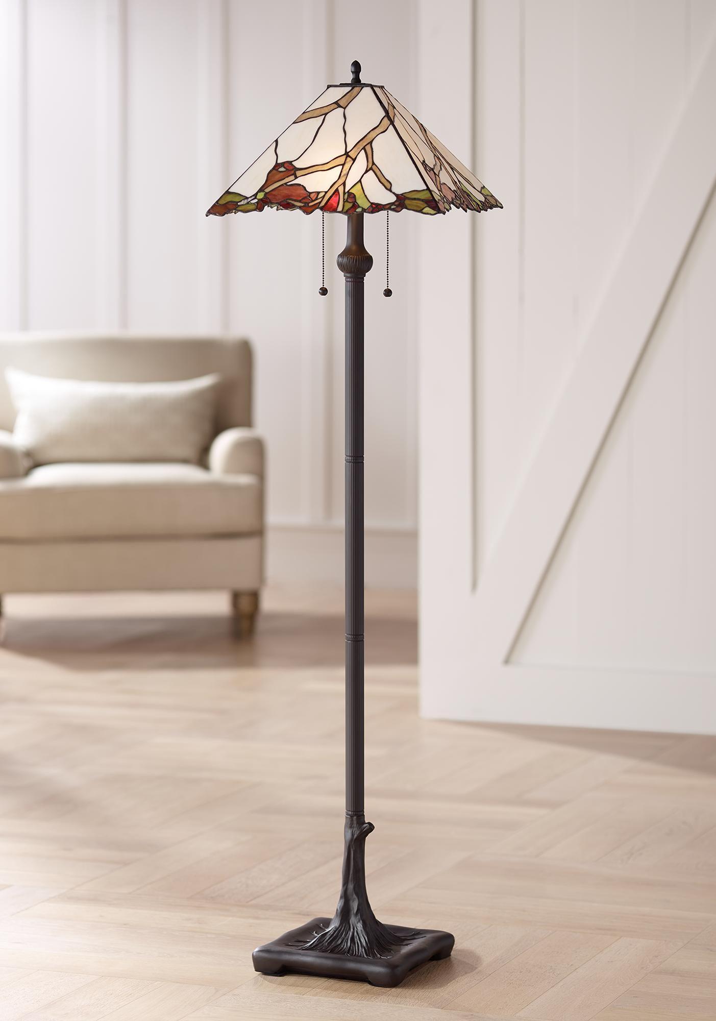 Floor Lamps Robert Louis Tiffany Cherry Blossom Art Glass Floor Lamp Tiffany Style Floor Lamps Tiffany Floor Lamp Glass Floor Lamp