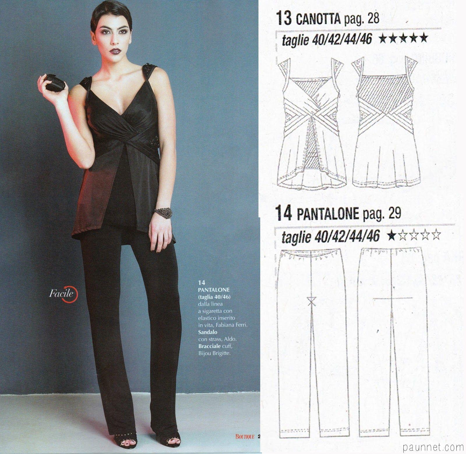 Paunnet la mia boutique 032014 easy sewing patterns paunnet la mia boutique 032014 jeuxipadfo Image collections