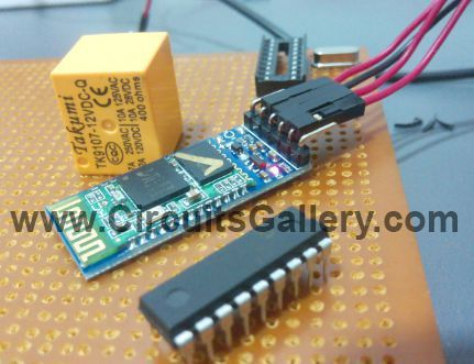 Android phone based Bluetooth wireless home automation project for ...