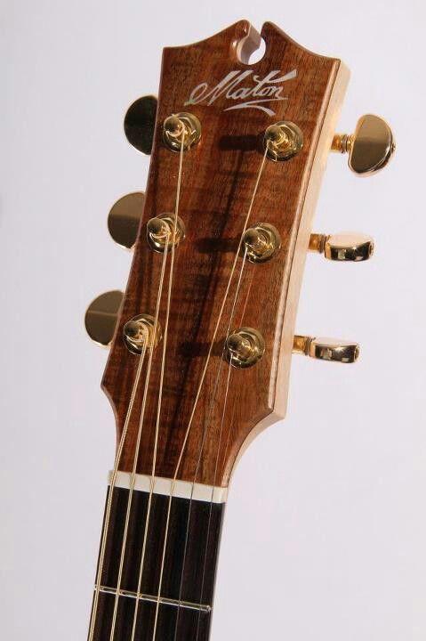 Maton 808 Series Luthier Guitar Guitar Custom Guitars