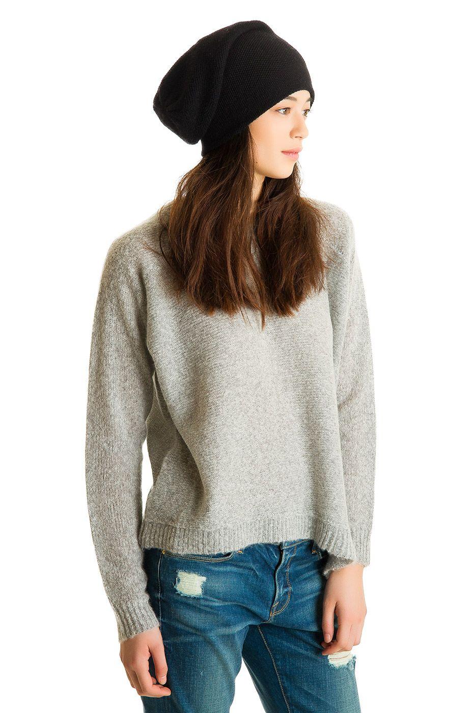 Cozy Pullover, Husky, 100% Ultra-soft Dreamy Cashmere | Paychi Guh
