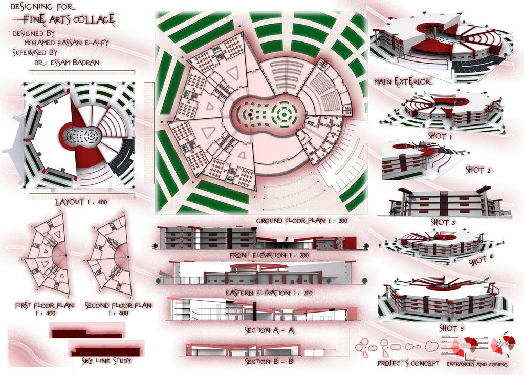 Graduation projects architecture projects of fine arts for Architecture art design