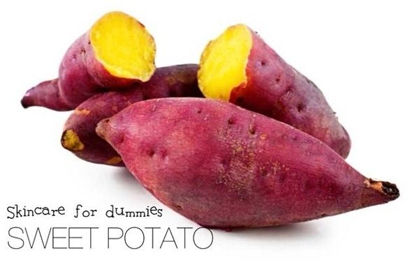 Skincare for dummies: Sweet Potatoes