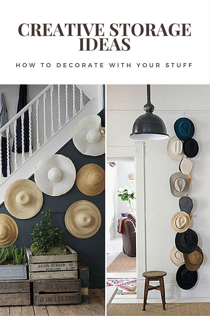 Corner hallway storage cabinet  Creative Storage Ideas How to Decorate with Your Stuff  Creative