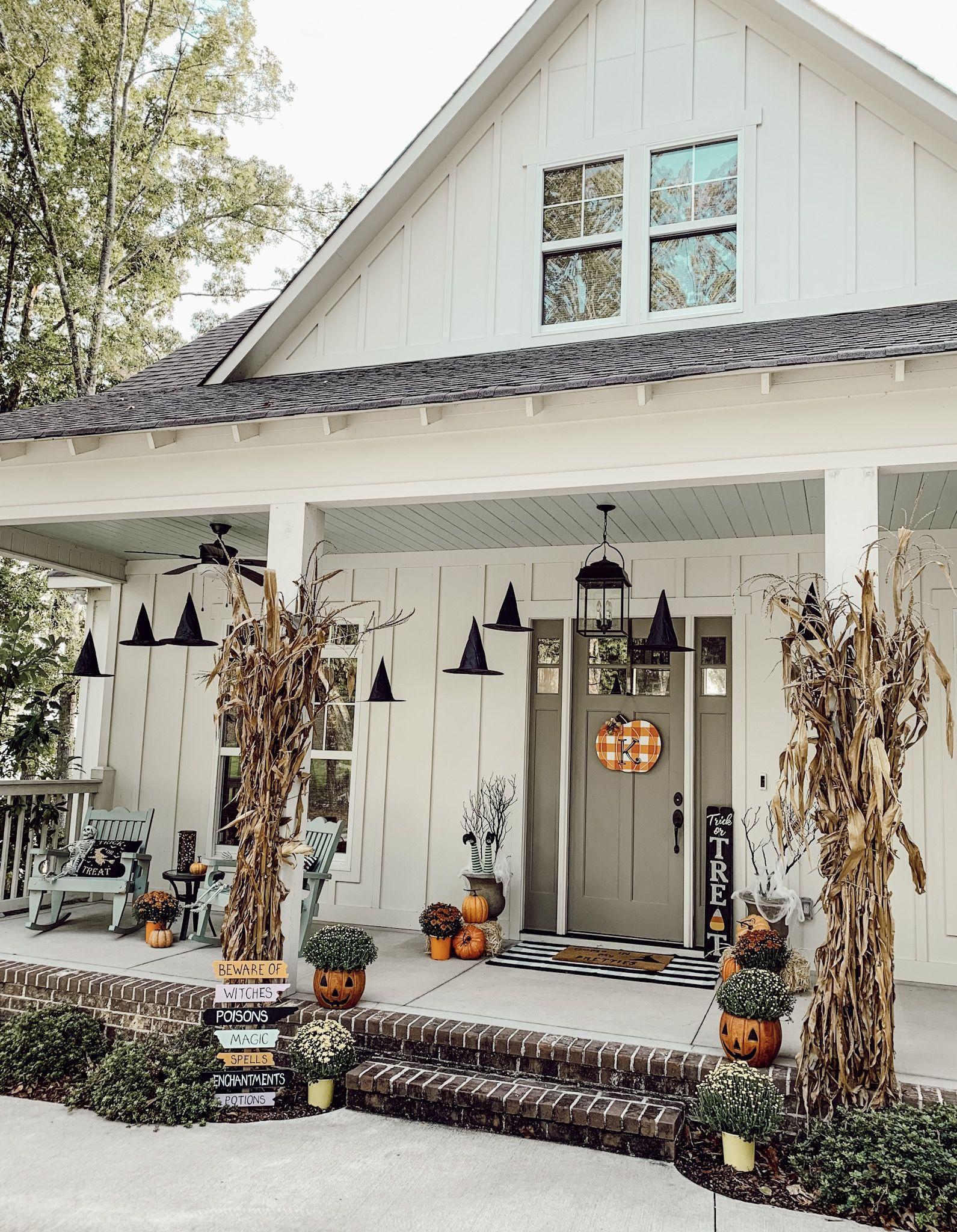 Spooky Porch Inspiration Spooky Porch Inspiration