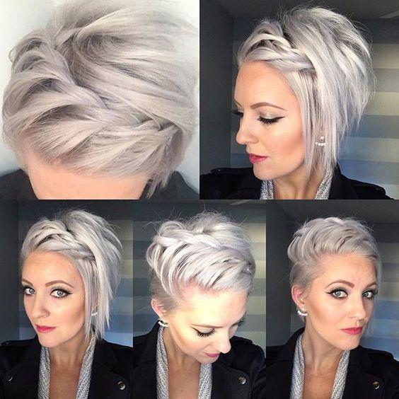 10 hermosos peinados cortos modernos para mujeres Trend bob peinados 2019