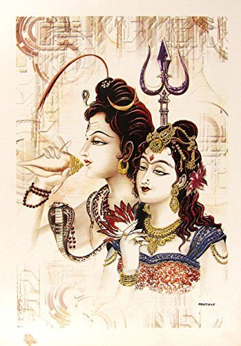 pics of lord shiva and parvathi