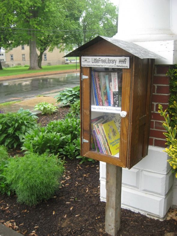 Our very own Little Free Library