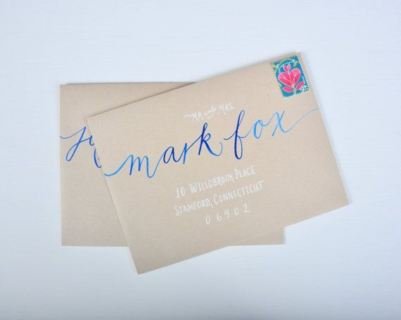 Best grace calligraphy envelopes images