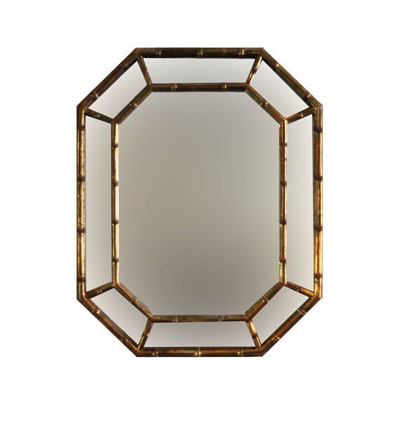 Chinoiserie Faux Bamboo Gold Frame Mirror By Foldingchairs On Etsy Eww Gross Why Is