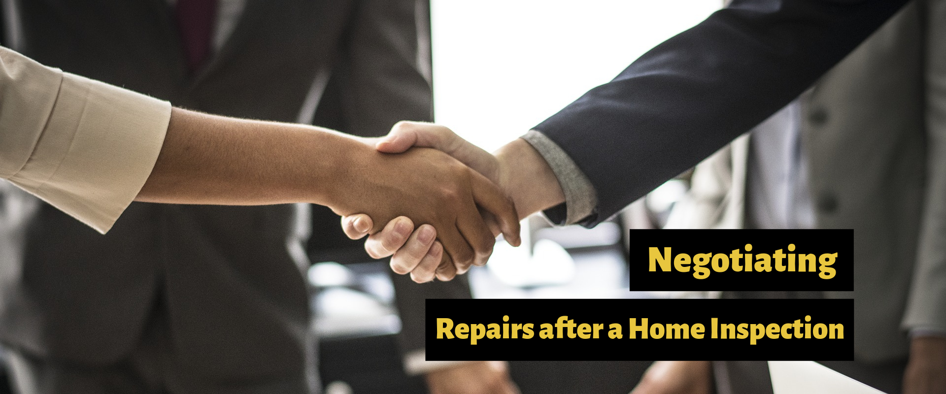 How Home Buyers Negotiate Repairs After Inspection