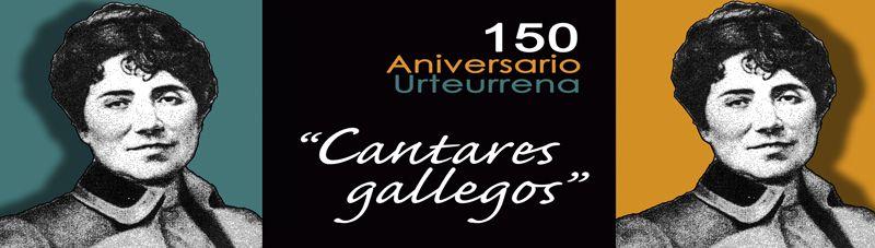 """hoy es el 150 aniversario de la obra """"cantares gallegos"""" de Rosalía de Castro #galicia #murcia"""