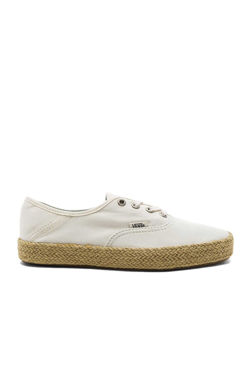 76b8373838 VANS AUTHENTIC ESPADRILLE.  vans  shoes