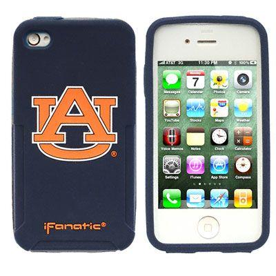 Auburn Tigers iPhone 4/4S Mascot Silicone Case