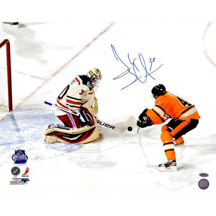 262a1f1511d Henrik Lundqvist New York Rangers Fanatics Authentic Autographed 16   x  20   Winter