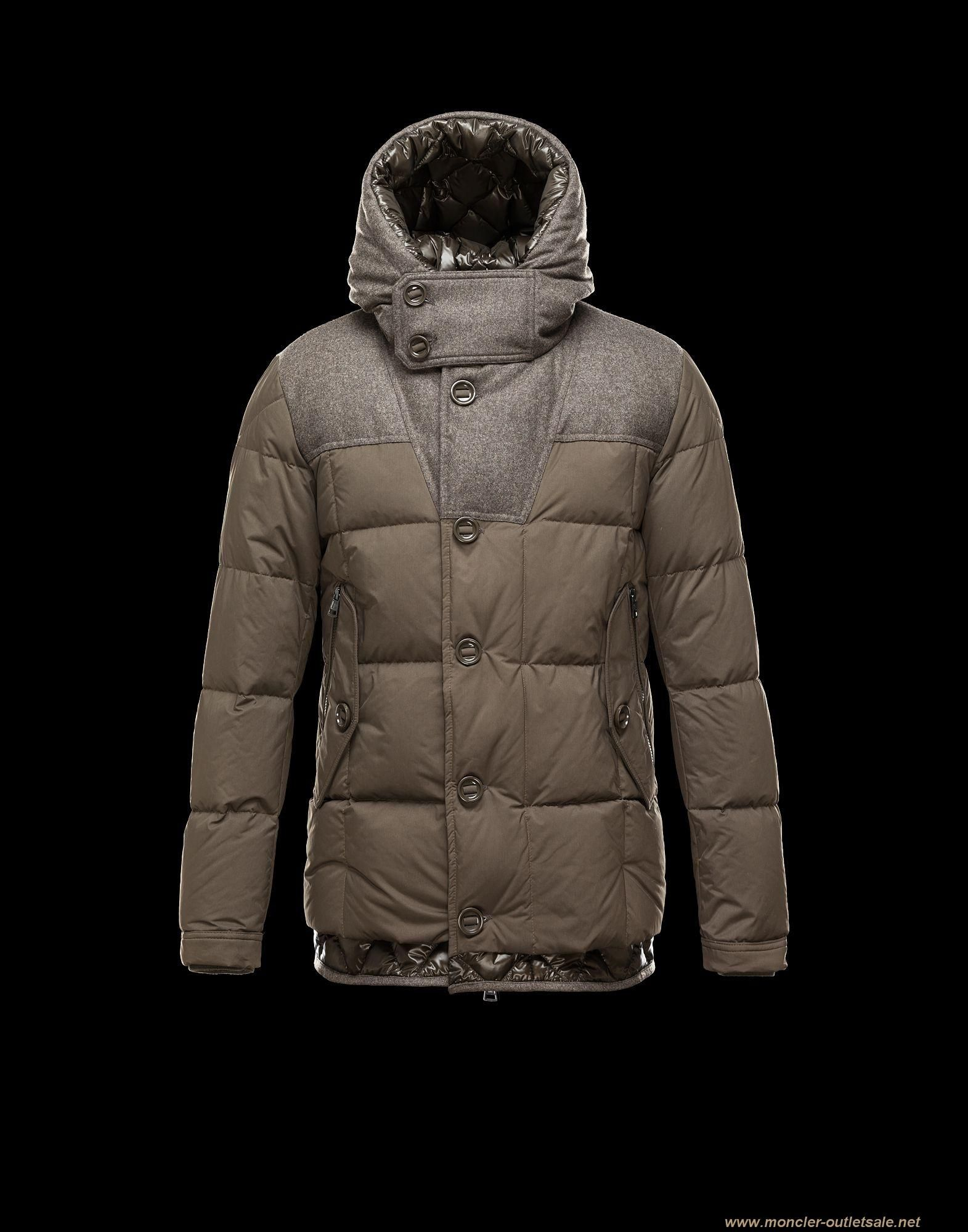 2013 New! Moncler PYRENEES Jacket For Men Hooded Army