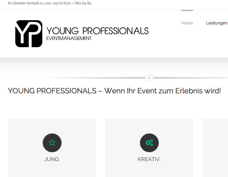 #Startup vorgestellt: Young Professionals Eventmanagement - Jung, kreativ & innovativ