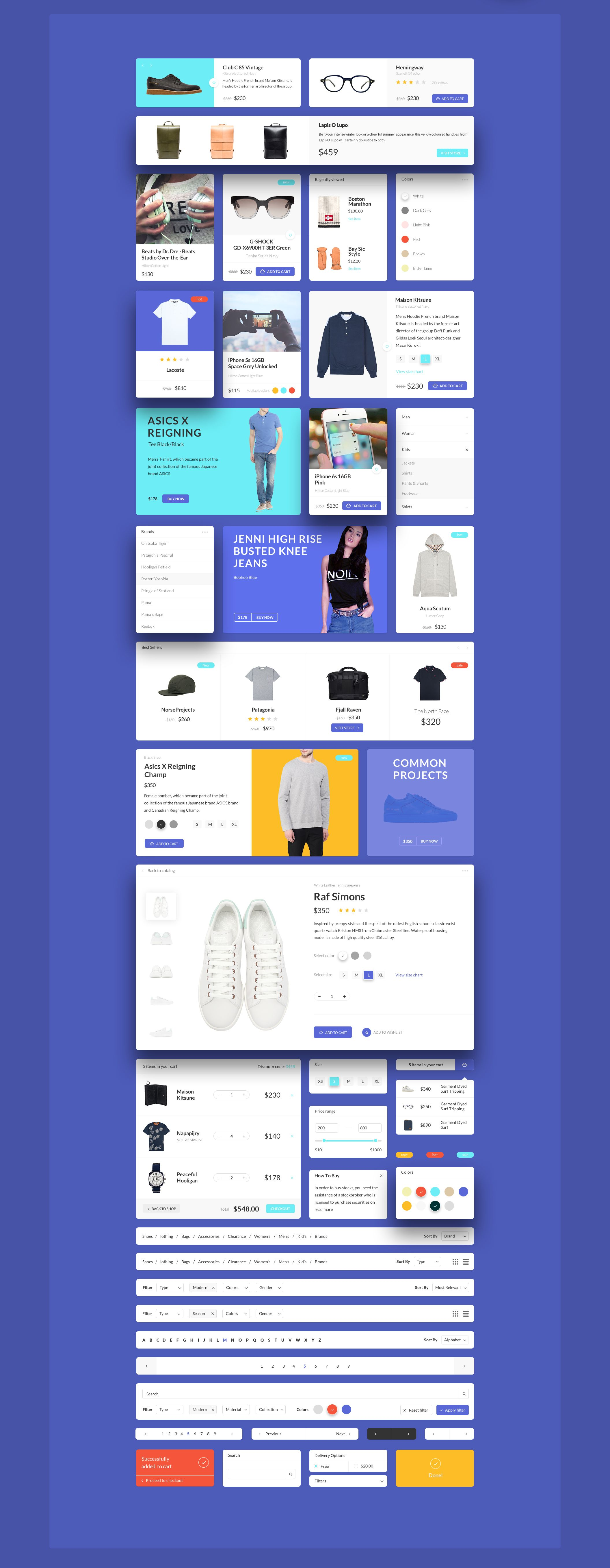 Patagonia UI is a web E merce UI Kit crafted in shop using a