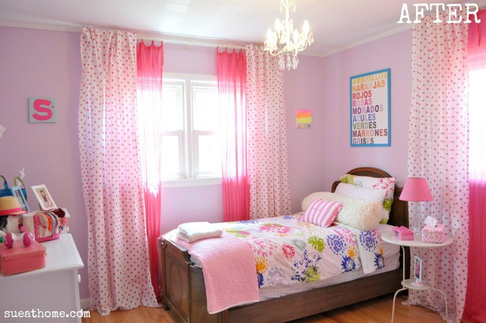 Girls Bedroom Paint Ideas Polka Dots comely girls room room designs tip photos home decoz teenage girl