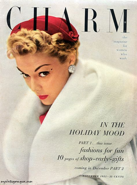 Vintage Everyday Fashion Magazine Covers From 1940s 1950s Fashion Magazine Cover Fashion Magazine Magazine Cover
